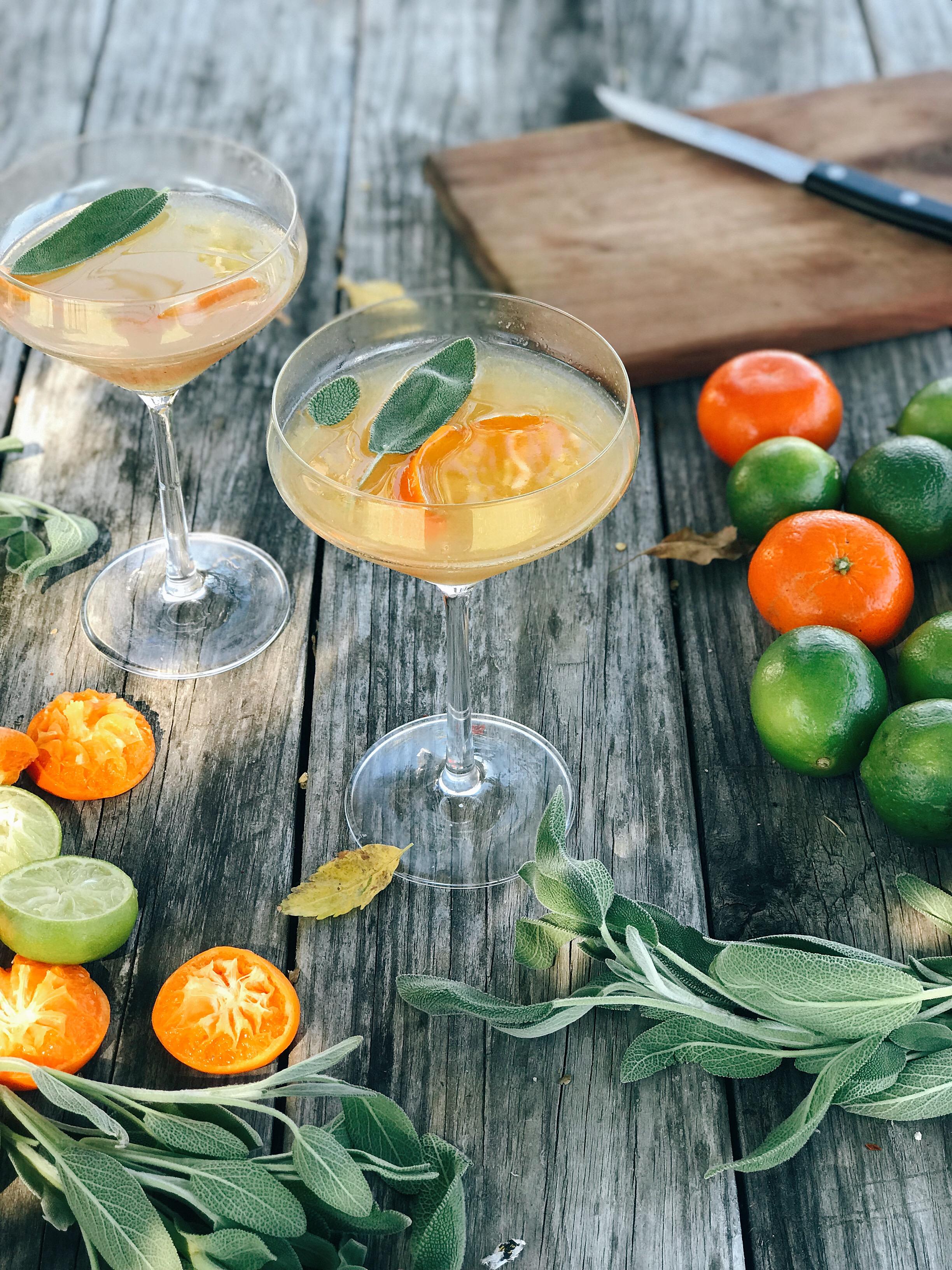 The HURRY BACK - Fall Cocktail // Laurenariza.com